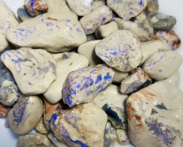 700 CTs of Bright Rough Opals- Refer to video and size info#364