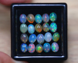 4.40Ct Natural Ethiopian Welo Solid Opal Lot W1712