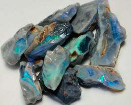 Bright Rough Opals - Black & Semi Blacks