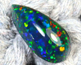 Welo Opal 2.18Ct Natural Smoked Ethiopian Play of Color Opal G2310/A3