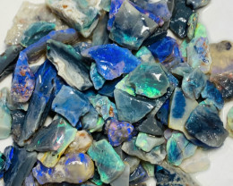Very Bright Rough Seam Opals- Refer to video and size info#433