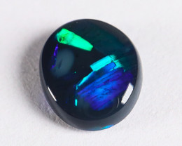 Lightning Ridge Australia - Solid Black Opal - 0.51 cts
