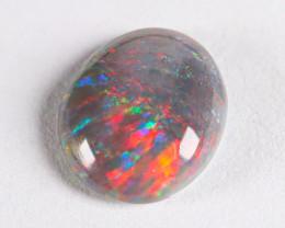 Lightning Ridge Australia - Solid Dark Opal - 0.6 cts