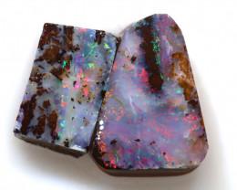 9.87 Carats Boulder Opal Rough Parcel  ANO-3984