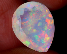 3.58cts Natural Ethiopian Faceted Welo Opal / UX2547