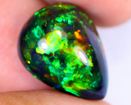 7.82cts Natural Ethiopian Welo Smoked Opal / HEUX2588