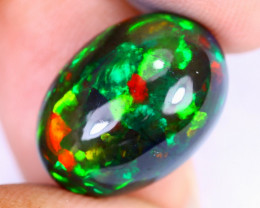 8.26cts Natural Ethiopian Welo Smoked Opal / HEUX2611