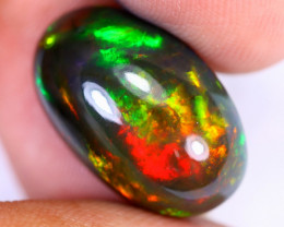 8.10cts Natural Ethiopian Welo Smoked Opal / HEUX2651