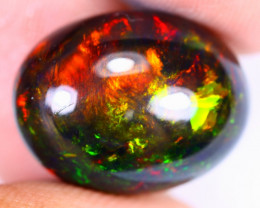 7.92cts Natural Ethiopian Welo Smoked Opal / HEUX2658