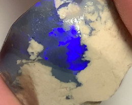 Bright Blue Bar Exposed in Rough Nobby