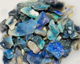 120 CTs of Bright Rough Opals- Refer to video and size info# 503