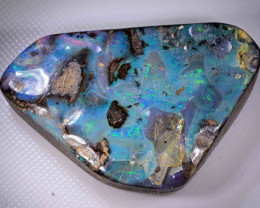 73.40 CTS NICE BOULDER OPAL - GREAT PENDANT STONE