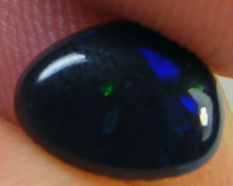 N1 JET BLACK OPAL  ,MENS RING 1.05    CARATS      QO2541