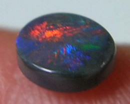{RO} L/RIDGE SOLID BLACK OPAL Flashy .47ct*$5NR SPECIALS*