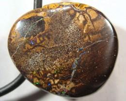 YowahOpals*22.80ct - Boulder Opal ^ Drilled for PENDANT