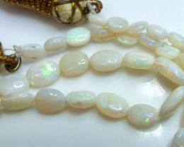 OPAL BEAD NECKLACE 33 CTS  TBO-3239