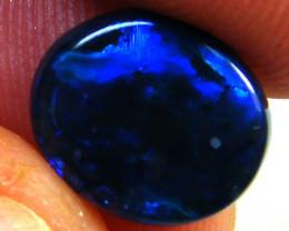 BLACK OPAL ROLLING BLUE FIRE  OPAL  1.5CARATS  QO 2649