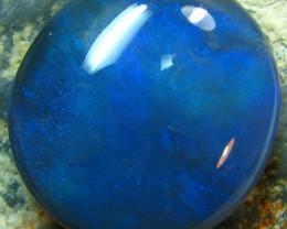 "BEAUTIFUL BLUE HUES LARGE "" DOME "" CUT STONE 10.65 CTS"
