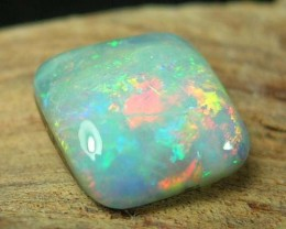 {{RO}} SOLID BOULDER OPAL FULL FACE COLOR  3.34 ct