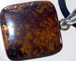 KOROIT PENDANT / SILVER BAIL- WELL POLISHED 16CTS [BMP898]