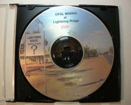 {RO} DVD PHOTO SLIDE SHOW OF OPAL MINING PROCESS AT L /RIDGE