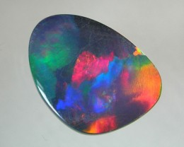LIGHTNING RIDGE DOUBLET BLACK OPAL  #84ROD27