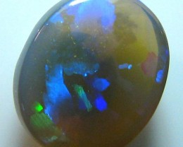 BEAUTIFUL BLACK OPAL CRYSTAL STONE PERFECT FOR JEWELLERY A416