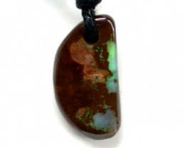 MINI BOULDER OPAL CREATION PENDANT  15CTS  G2303