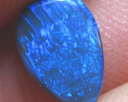 BLACK OPAL PENDANT STONE GREAT BLUE FIREY SEE THE VIDEO 1.30