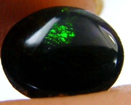RED FIROPAL FROM BLACK OPAL  FIE LDS   .50  CARATS   QO 3272
