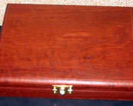 Jarrah Opal & Gemstone Display Case with 20 Gem Jars (JGl-20