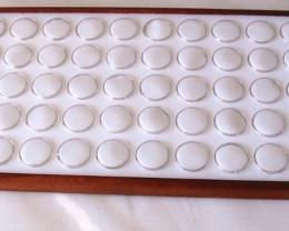 Jarrah Display Tray plus 50 Gem Jar Insert to fit our Cases