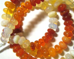 48 CTS VVS QUALITY FIRE OPAL BEADS  FOB-2
