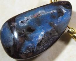 YOWAHOPALS*9.50ct Necklace --- Natural Boulder Opal-