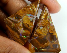 BOULDER OPAL ROUGH SPLIT 55CTS L1816