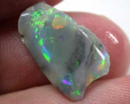 BROAD BLACK  OPAL INTERESTING MULTI FIRE ROUGH  R791