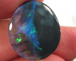 # 5.50 CTS THE YIN - YANG OF BLACK OPAL UNIQUE $1 NO RESERVE