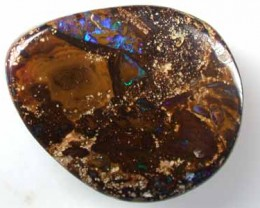 FREE SHIPPING BOULDER OPAL BEAD FOR NECKLACE 28 CT GR602