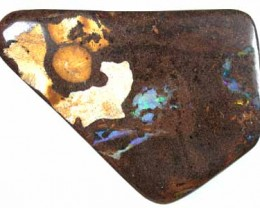 BOULDER OPAL BEAD HOLE DRILLED FOR NECKLACE 119.5CT GR646