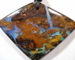 YowahOpals*58.00Cts Opalized Wood - Opal Pendant -