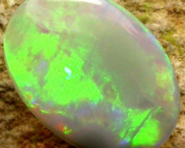 N8 CRYSTAL OPAL FROM LIGHTNING RIDGE 0.64 CTS [S904 ]