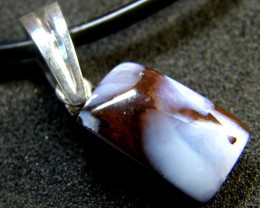 BOULDER OPAL WITH PEARL ENHANCER BALE PENDANT 23.5 CT MY 873