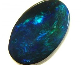 BLACK OPAL CUT STONE L.RIDGE 0.75 CTS SFJ 198
