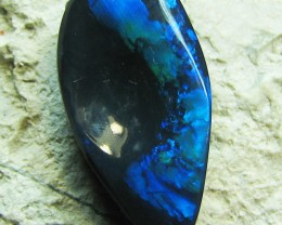 CONCAVE SHAPE IN THE MIDDLE OF THIS STONE COULD EVEN PLACE A DIAMOND IN THE MIDDLE IF WANTED