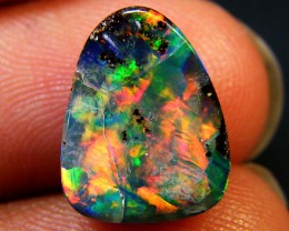ONE OF OUR BRIGHTEST BOULDER OPAL 3.05  CTS MM6