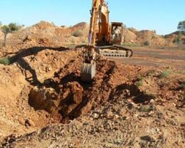 Opal Mining at The Yowah.
