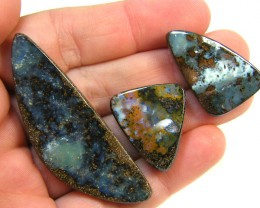 PARCEL THREE  BOULDER OPAL 100   CTS  MM 82