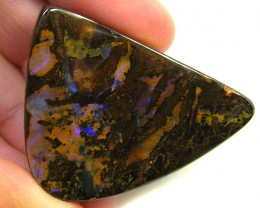 PURPLE HUES  BOULDER OPAL  66 CTS  MM 132
