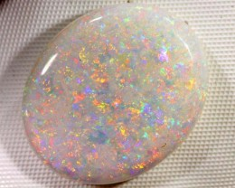 WHITE  SOLID OPAL BRIGHT MULTICOLOURS 11.15 CTS Y-5