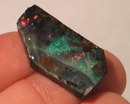 SUPERB QUALITY Large Multi Color Dark BOULDER OPAL ROUGH